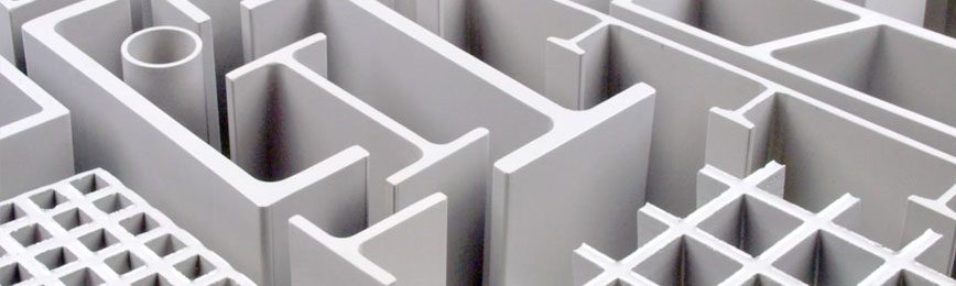 FRP and GRP pultruded profiles