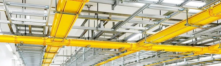 FRP Cable Trays in Dubai, UAE