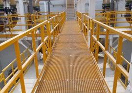 FRP Gratings, Doha Desalination